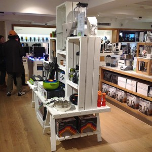 Chunky-trestle-table-for-cookware-Harrods