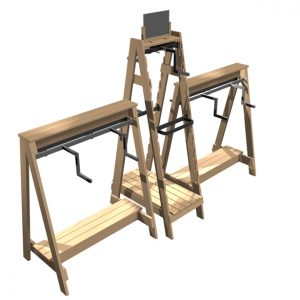 Ladder-Open-A-frame-combination
