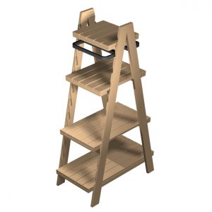 Clothes-Ladder-1900mm-LINK2029