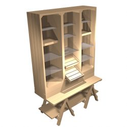Chunky-trestle-1500mm-cabinet