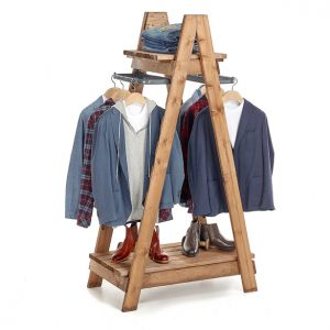Clothes-Ladder-country-style