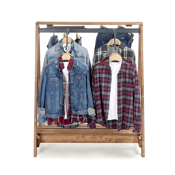 Open-A-frame-clothes-stand
