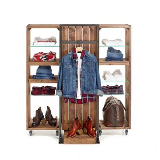 Rustic-Mobile-clothing-display
