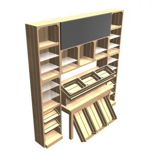 Jams-and-bakery-display-fixture-cabinet