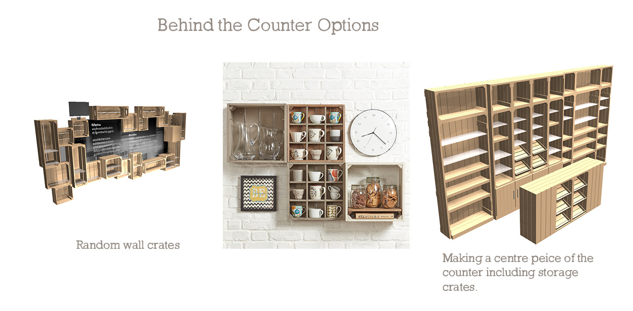 Counter-Behind-the-counter