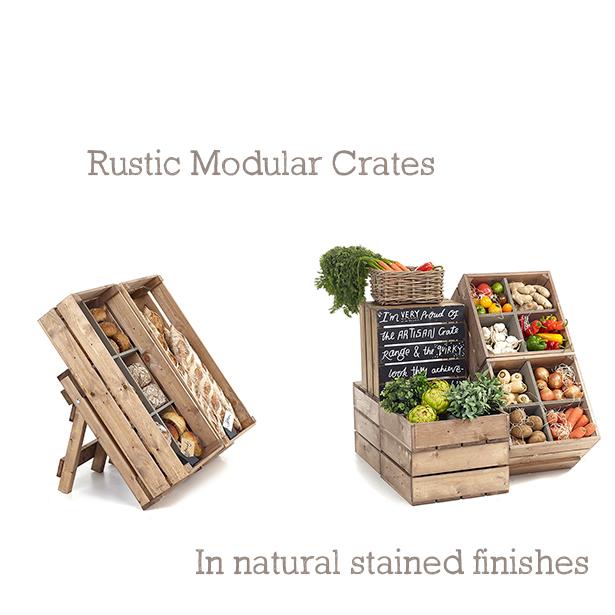 Rustic-natural-crates