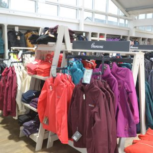 Outdoor-clothing-garden-centre-shelving