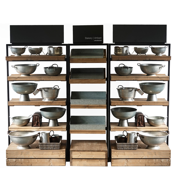 Tallboys-standard-shelves-with-galvanised-props-3-units
