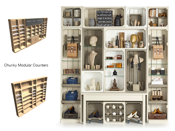 Shelving-combinations
