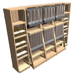 gravity-bin-3bay-with-narrow-scoop-bin-shelves