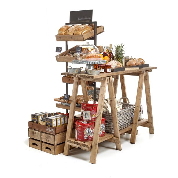 Christmas-Food-Hall-Table-Display