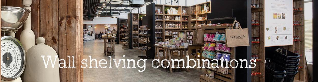 Wall-shelving-combinations