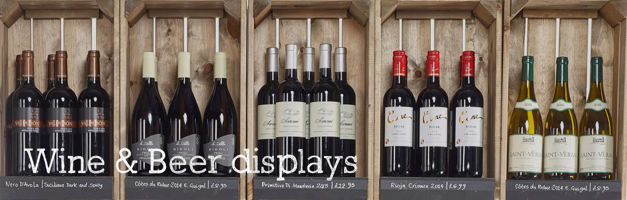 Wine-&-Beer-Displays