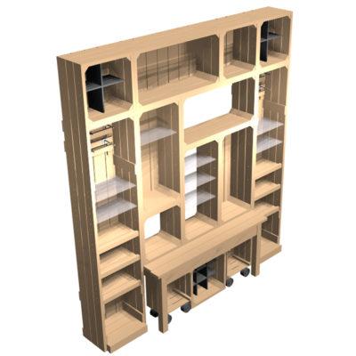 3m-Dresser-2700mm-high