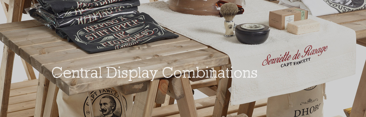 Central-display-combinations