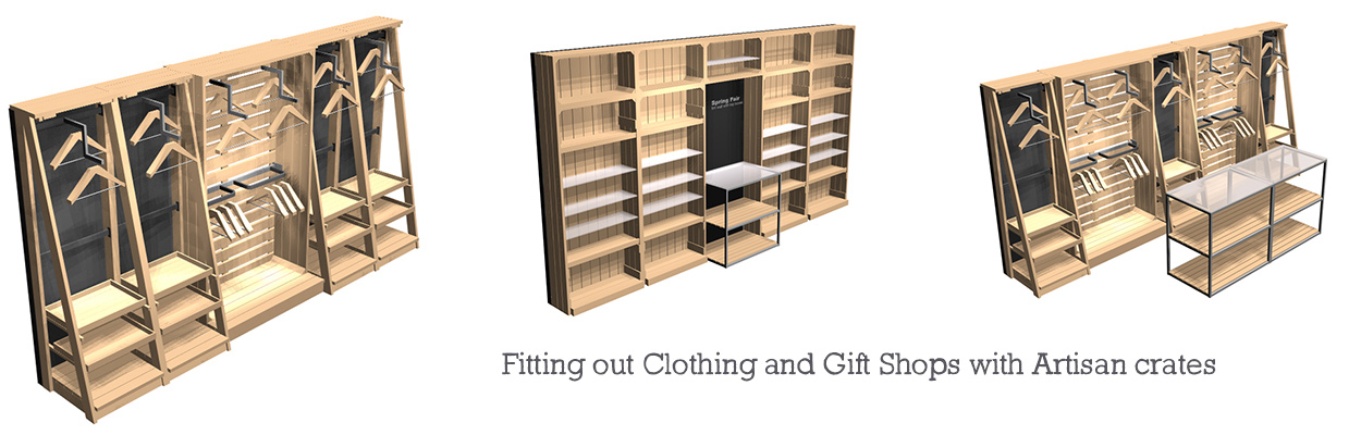Fitting-out-gift-clothes-shops-with-artisan-crates