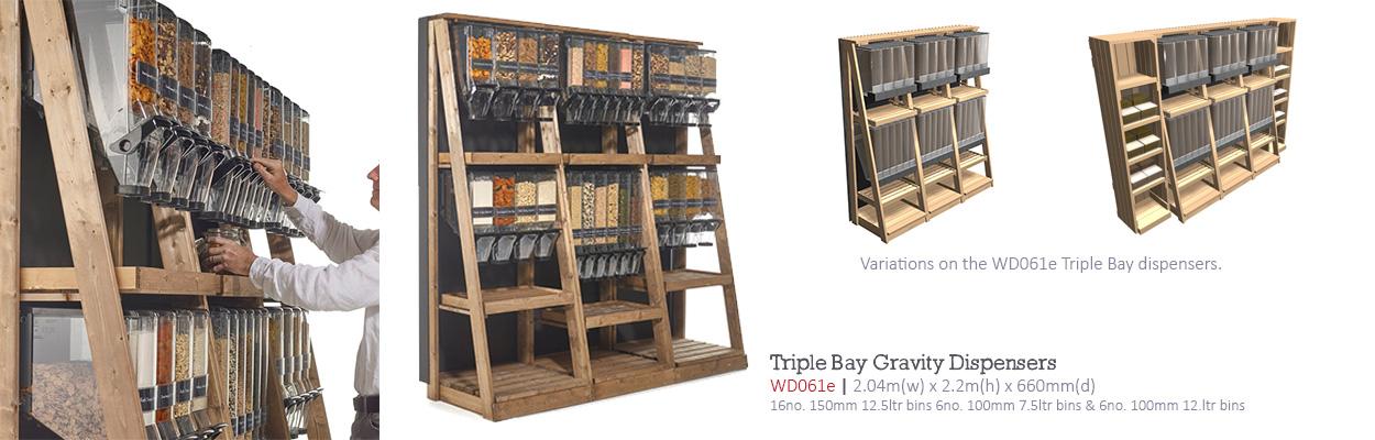 Triple-Bay-gravity-dispensers-WD061e