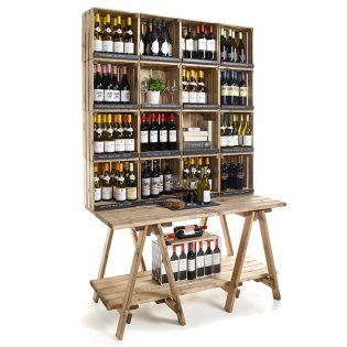 photo wine cabinet