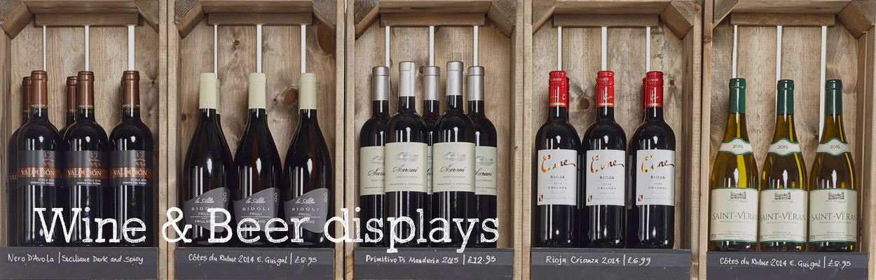 Wine-&-Beer-Displays