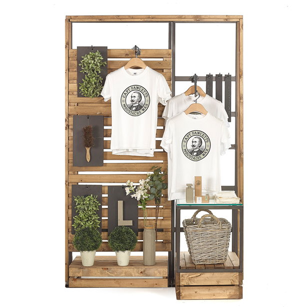 Warehouse-Tall-Boy-Slat-Rack-With-Hanging-3