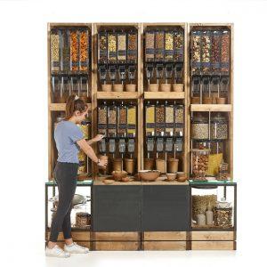 Gravity-bin-and-Storage-Crates-Display