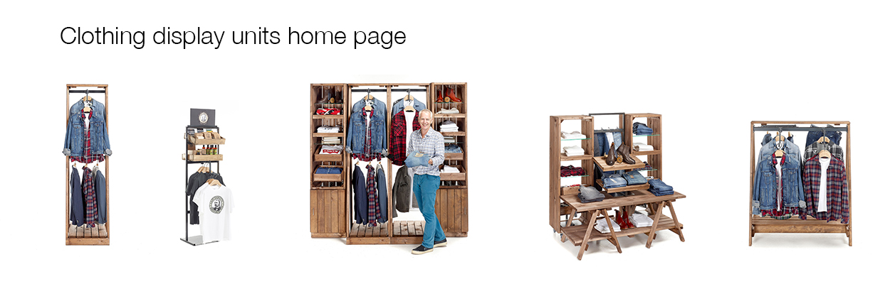 Clothing-display-unit-home-page