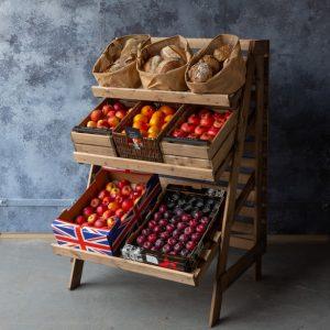 Multi-tier-greengrocers-setup