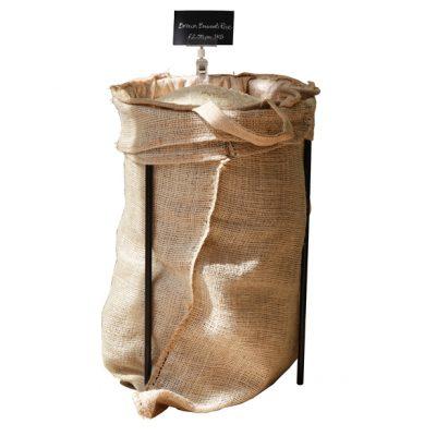 Hessian-sack-stand