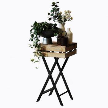 Leg-Legged-waiter-with-Slim-Top-Antique-plants-on-top-615px
