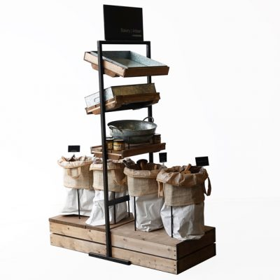 Tallboy-Island-with-sack-stands-and-Pantry-Shelves