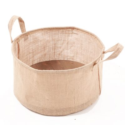 Jute-back-with-wooden-base