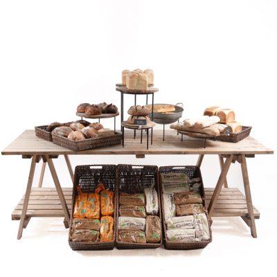 Large-2200mm-Trestle-table-bakery-set-up