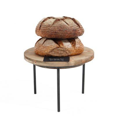 Small-sack-stand-and-wooden-lid-Bread-display
