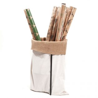Wrapping-paper-sack-Stand-cotton