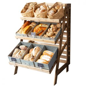 Chatto-multi-tier-stand-with-metal-trays-bread-display