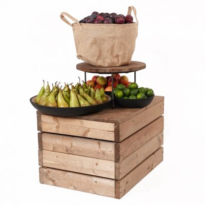 Fruit-display-on-plinth