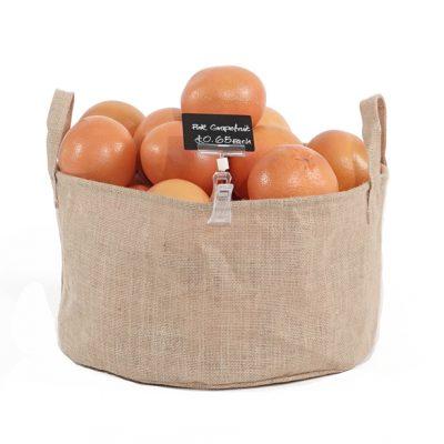 Small-Hessian-Dump-Bin-with-Grapefruit