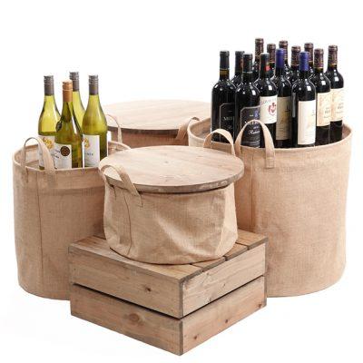 Hessian-Dump-Bin-central-wine-display2