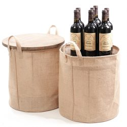 Hessian-dump-and-storage-bins-360mm-wine
