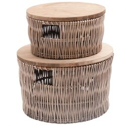 wicker-round-baskets-with-wooden-lids
