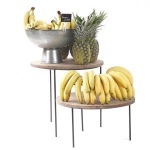 Tropical-fruit-display-on-merchandising-risers