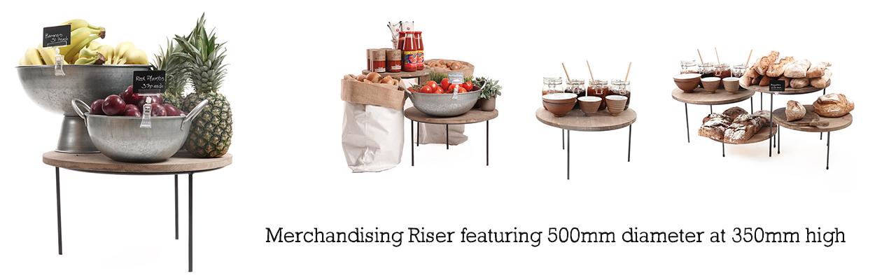 Merchandising-Riser-500mm-and-350mm-high