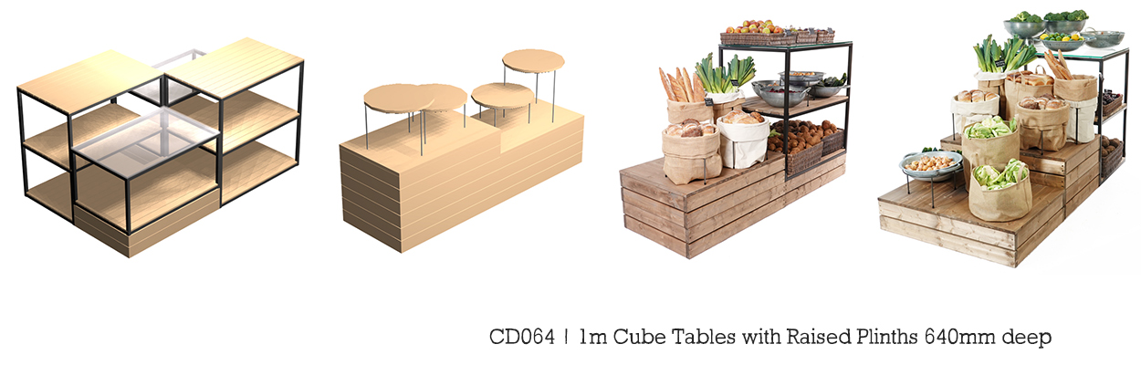 1m-Cube-Tables-with-raised-plinths