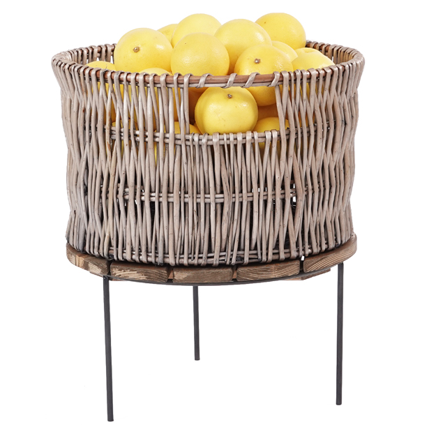 Wicker-basket-500mm-on-Merchandising-riser