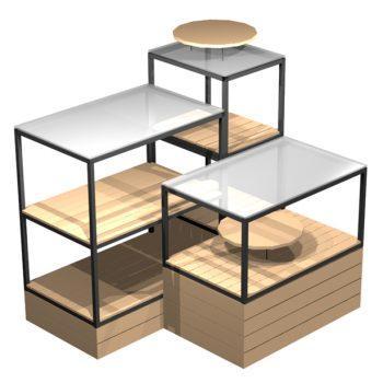 Cube-Island-Display